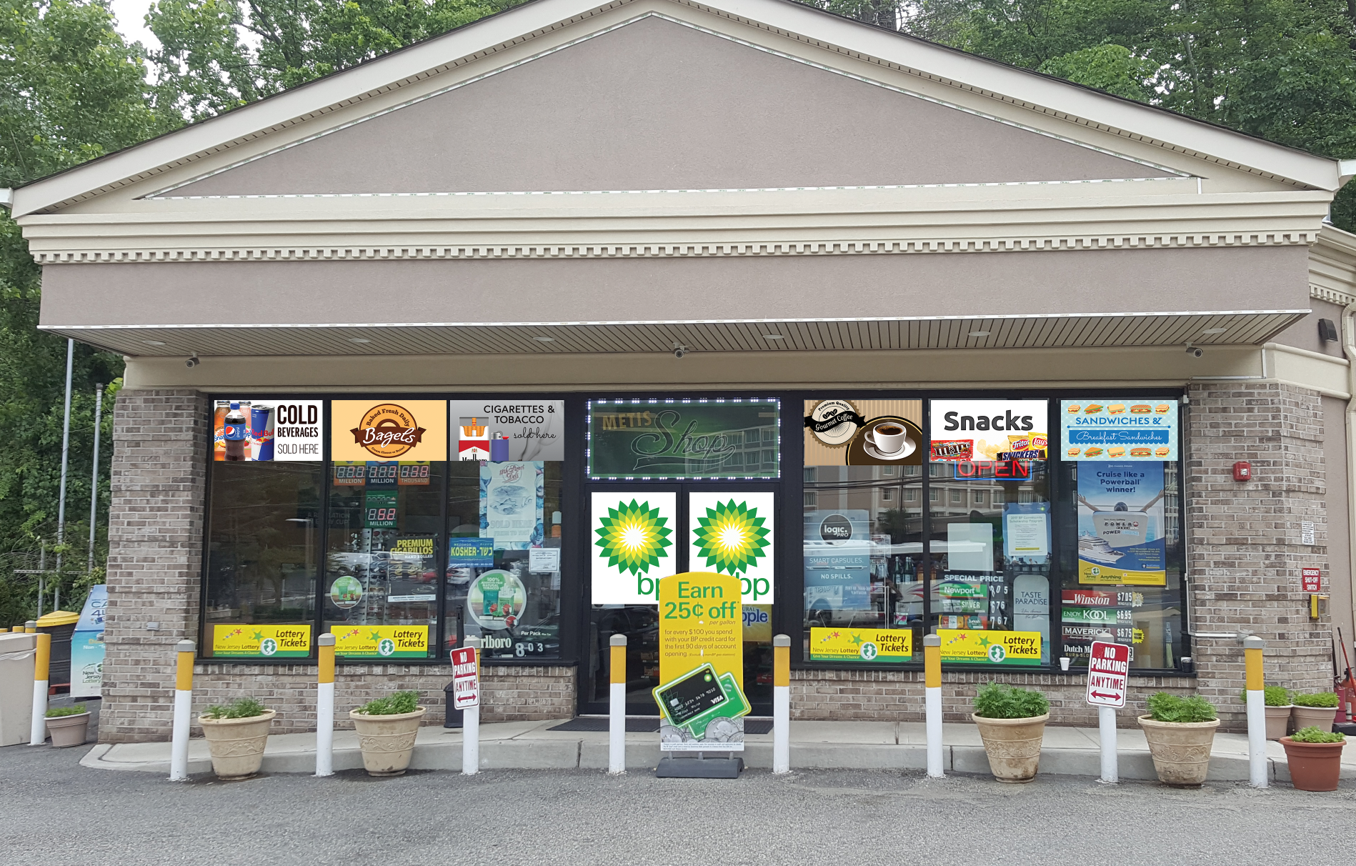 BP Gas Station Fort Lee - Vehicle Wrap, Sign Products, Banners